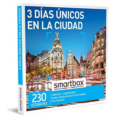 Smartbox - Caja Regalo Amor para Parejas - 3 días únicos en la Ciudad - Ideas Regalos Originales - 2 Noches con Desayuno para 2 Personas