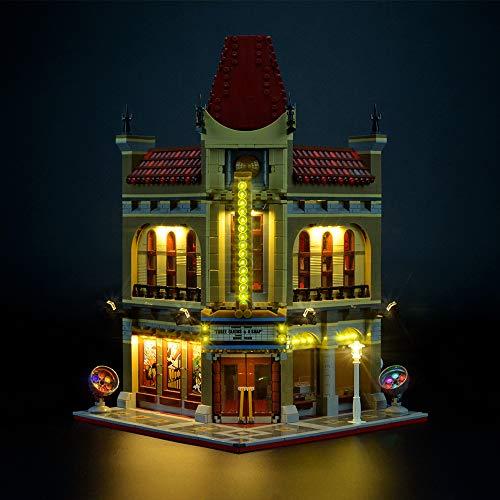 LIGHTAILING Licht-Set Für (Creator Palace Cinema) Modell - LED Licht-Set Kompatibel Mit Lego 10232(Modell Nicht Enthalten)