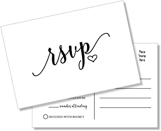 rsvp card size