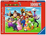 Ravensburger Puzzle, Puzzles 1000 Piezas, Super Mario, Puzzles para Adultos, Puzzle Ravensburger