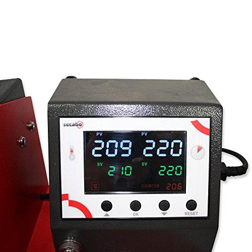 Tassenpresse Secabo TM1 – Profi-Transferpresse in Premium-Qualität - 2