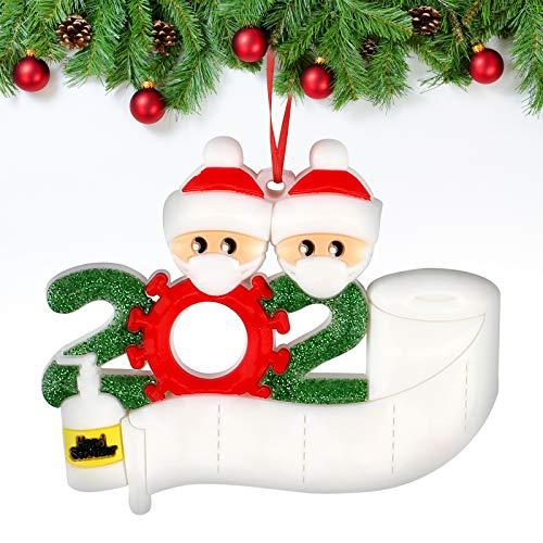 Sopravvissuto Famiglia Ornamento 2020 Quarantena Personalizzato Ornamenti Di Natale Decorazioni Per Albero Di Natale Ornamenti Famiglia Di Albero Di Natale Ornamento Casa Decorazione Regali Di Natale