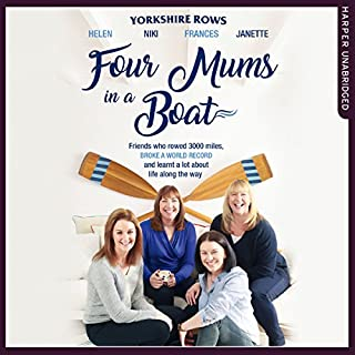 Four Mums in a Boat cover art