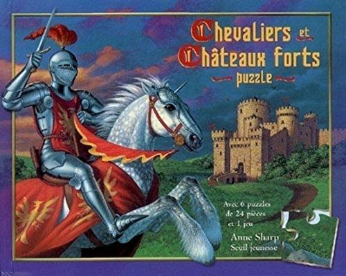 Chevaliers et Châteaux forts : Livre-Puzzle