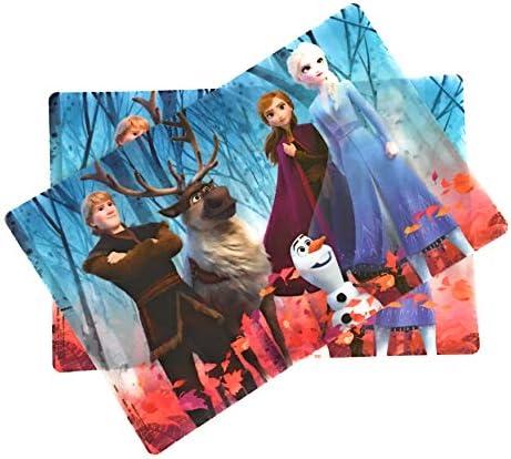 Zak Designs Disney Frozen Anna Elsa Kid s Placemats Set of 2 product image