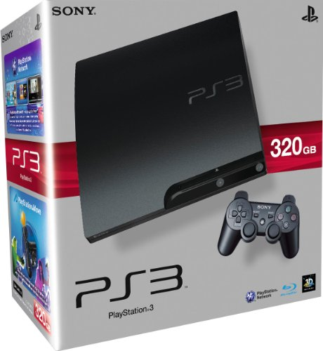 Sony PlayStation 3 Slim Console (320 GB Model) [Importación inglesa]