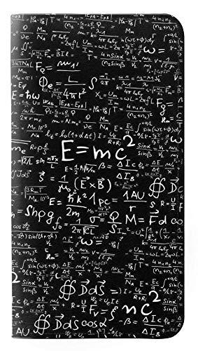 Innovedesire Mathematics Physics Blackboard Equation Flip Case Cover Custodia per iPhone 5 5S SE