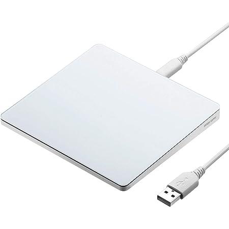 サンワダイレクト タッチパッド 最大13種類ジェスチャー機能 Win/Mac対応 USB接続 トラックパッド タッチマウス 400-MA128