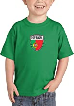 Portugal - Country Soccer Crest Infant/Toddler Cotton Jersey T-Shirt