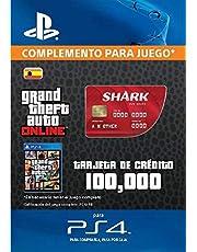 Grand Theft Auto Online - GTA V Cash Card | 100,000 GTA-Dollars | Código de descarga PS4 - Cuenta Española