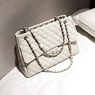 weichuang Bolso de mano para mujer con cadena y bandolera, bolso de mensajero para mujer, bolso de cuero de diseñador prin...