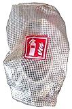 Gitternetzschutzhaube für 6kg Feuerlöscher mit...