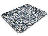 Deco Prime - Alfombrilla Raton, PC, Antideslizante, Impermeable, Patron, Azulejos (Multicolor, XXX-Large)