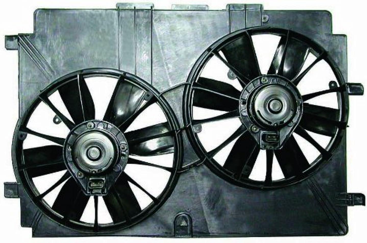Depo 335-55007-000 Dual Fan Assembly