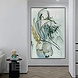 Impresiones en lienzo pared cuadros de arte sexy pintura abs
