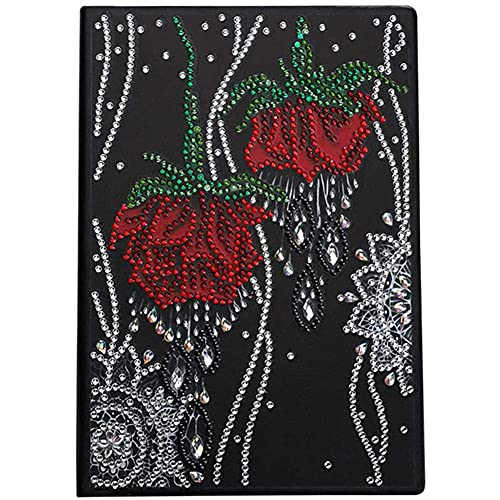 DIY 5D Pintura Diamante Taladro Completo Kit Cuaderno de tapa Punto de Cruz bordado rhinestone Diamante painting Arte para adultos y niños regalos sala de estar Decoración de Pared del Hogar60x70cm