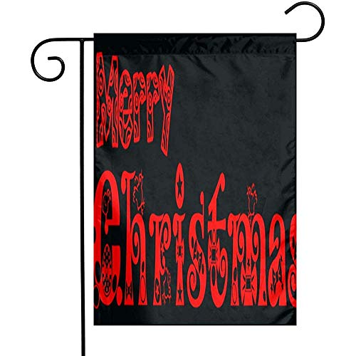 jiaxingdalin Frohe Weihnachten Text PNG Willkommensflagge Wetterbeständige Gartenflaggen Regenfeste Jahreszeit Flagge Dauerhafte Flagge Gedruckte Veranda Flagge Außenflagge