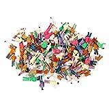 Generic - 100 piezas pintadas modeltrain pasajero figuras a escala 1:150