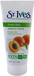 St. Ives Fresh Skin Apricot Scrub Invigorating 6oz.