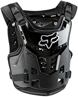 FOX PROFRAME LC YOUTH ROOST DEFLECTOR BLACK YOUTH 6-11