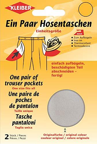 Kleiber + Co.GmbH Quick-EIN-Paar-Hosentasche, 18,5 cm x 16 cm