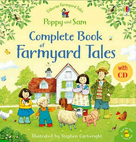 Poppy and Sam Complete Book of Farmyard Tales with CD (CV)