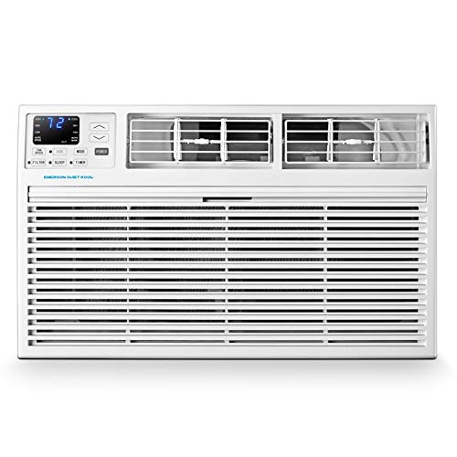 Emerson Quiet Kool EATE14RD2T 230V 14K BTU Through The Wall Heat and Cool Combo Air Conditioner with Remote Control, EATH14RD2, 14000, White