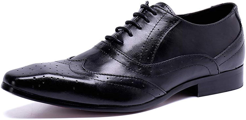 XWDQ Chaussures d'affaires pour Homme Oxford nouveau Décontracté Peas Chaussures Angleterre Chaussures paresseuses