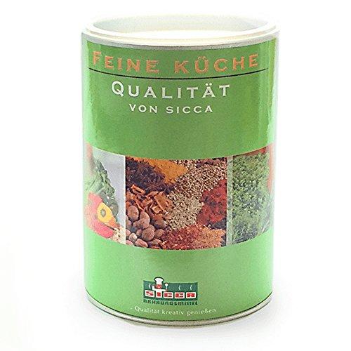 """SICCA - """"Rühreipulver natur - deklarationsfrei"""" ist eine homogene, hellgelbe Pulvermischung zur Herstellung von Eierspeisen. Druckdeckeldose 600 gr."""