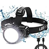 Cocoda Lampe Frontale, Super Brillante 200 LM Torch Frontale LED Puissante...