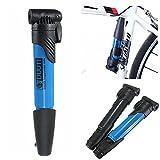 Bazaar Bicycle Bike Cycling Mini Hand Light Air Pump Inflator Valve Tyre Pump