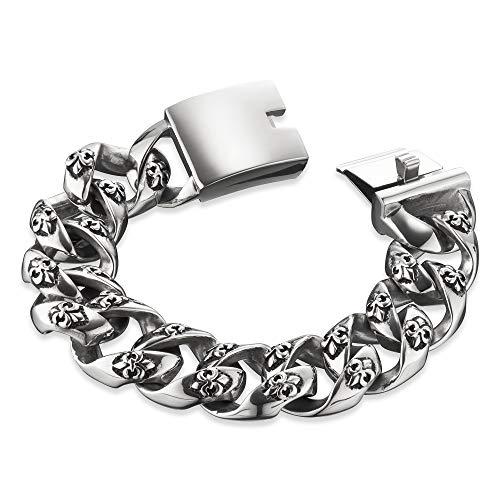 SAVE BRAVE Armband George I Edelstahl I 20,5 cm