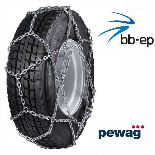pewag cERVINO-économiques pour la Neige pour nutzfahrzeugeinsatz camionnettes et camions avec des pneus 305/70 r19.5–tÜV compatibles avec Le straßeneinsatz v5119 pour Standard