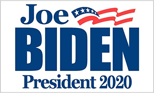 JOE BIDEN PRESIDENT 2020 BUMPER STICKER