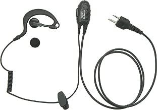 アルインコ 2ピン用 同時通話・VOX対応 PTTロック付 耳掛けイヤホンマイク DJ-PA20 PB20 PA27 PB27 CH271 CH201 P24 P25 P35 R100D PX3 PX31 TX31対応 EME-51A/EME-29A互換 プラネット PL-EM02A