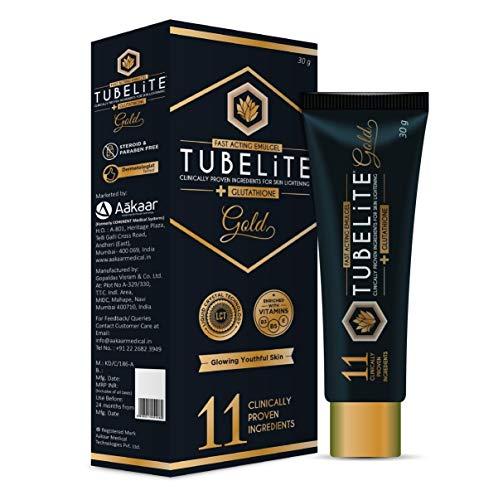 Aakaar Tubelite Gold Cream, 30 g