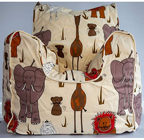 Jungle Safari Kinder Sitzsack, gefüllt