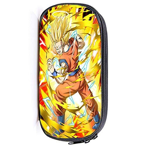 Twhoixi Dragon Ball Goku Estuche para lápices Niños Niños Niñas Estudiantes Bolsos...