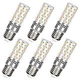 E27 Bombillas LED 12W Equivalente 120W Lámpara halógena E27 Edison Screw Bombillas LED de maíz para candelabros Lámparas de pared Lámpara de mesa 1320 Lm Ángulo de haz de 360 ° No regulable, paquete