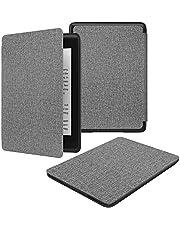 Kindle Paperwhite ケース 2018 Dadanism Kindle Paperwhite カバー 第10世代 NEWモデル 軽量 薄型 保護カバー オートスリープ機能付き 布紋グレー