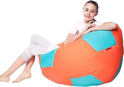 ビーズクッション SMM 成人用の大型ビーズクッションEPP粒子充填、牛津布生地の家庭用リクライニングチェア、疲労を緩和する柔らかいソファベッド、軽量、6色/2サイズ (Color : Style-5, Size : 70cm)