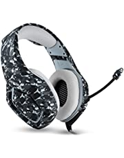 ONIKUMA K1 Camouflage PS4 Headset Bass Gaming Headphones Game Earphones Casque with Mic for PC Mobile Phone Xbox One Tablet