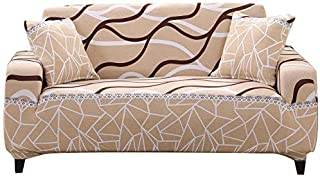 FORCHEER Stretch Couch Covers Sofa Slipcovers Fitted Three Seater Furniture Sofa Protector(Sofa, Printed #9)