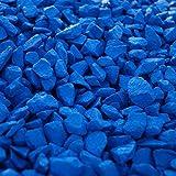 RockinColour - Piedras Decorativas para jardín, Color Azul Celeste