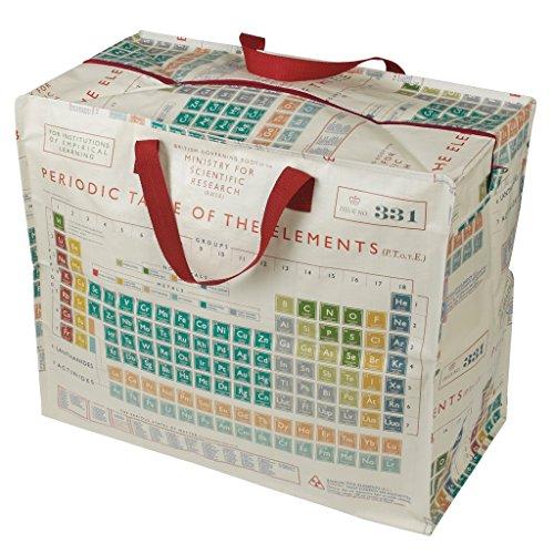 Dotcomgiftshop Große Aufbewahrungstasche Jumbo Bag Picknicktasche Tasche Einkaufstasche Wäschetasche Waschesack Elementen