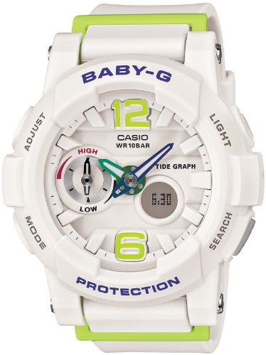 CASIO Baby-G G-LIDE (BGA-180-7B2JF) Tide Graph Ladies Watch