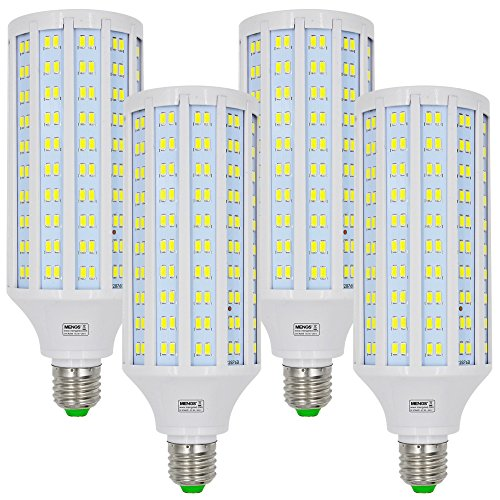 MENGS® 4 Stück E27 LED Lampe 40W Kaltweiß 6500K AC 85-265V 280x5730 SMD