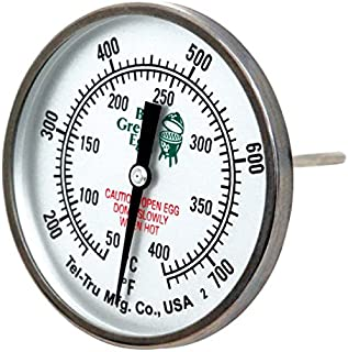 big green egg thermometer replacement