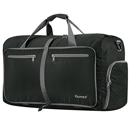 Gonex - Bolsa de Equipaje Plegable para Deporte o Viaje (Multiusos, Impermeable, 80 L) L...