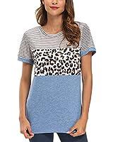 IANWIND Women Short Sleeve Tops Womans T Shirts